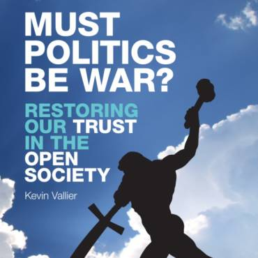 My Recent Podcasts on Trust, Polarization, Liberalism, and Must Politics Be War?